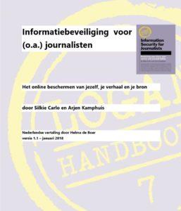 Informatiebeveiliging voor o.a. journalisten - Nederlandse vertaling, versie januari 2018