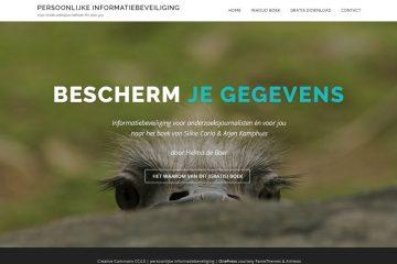 Website Bescherm Je Gegevens