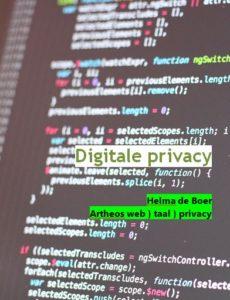 cover Digitale Privacy - een praktische handleiding door Helma de Boer