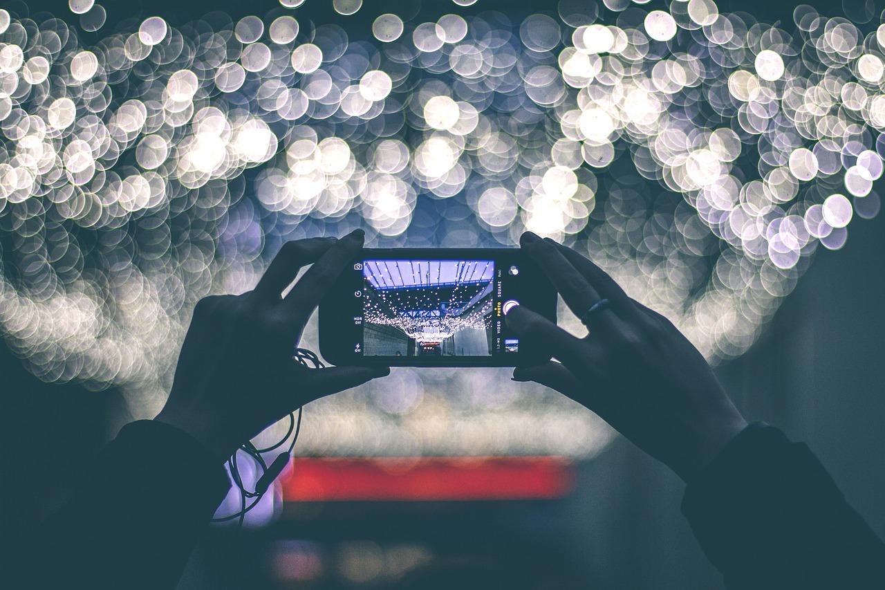 mobieltje, foto, telefoon