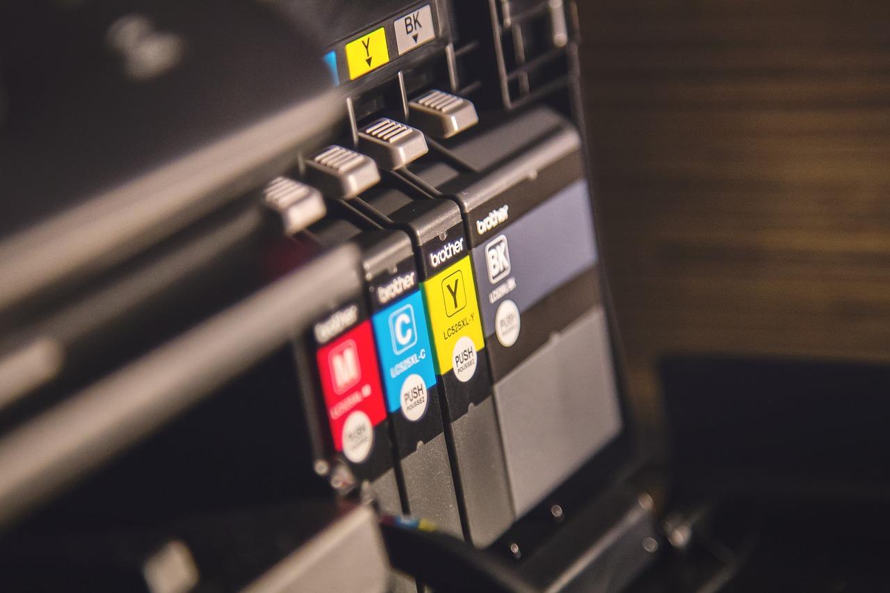 kleurenprinter, toner, inkt